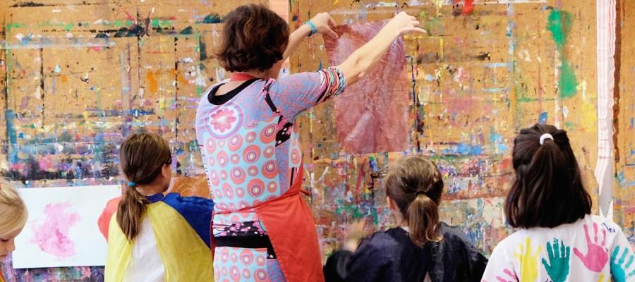 Malen_viele Kinder