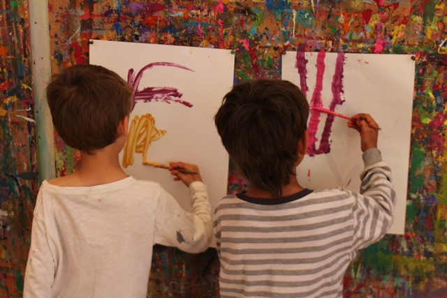 Kinderatelier Wien 3 Okt Kurs Start Malen Gestalten Kinder 4